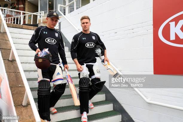 Surrey's Sam Curran and Jason Roy