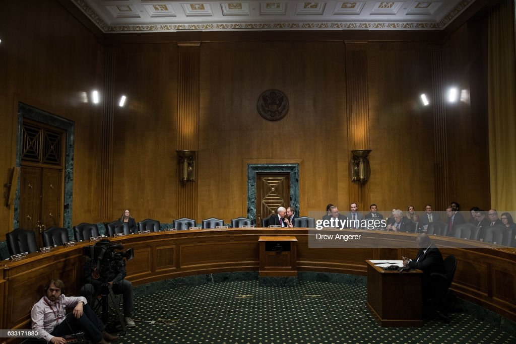 Senate Finance Committee Holds Votes On Trump Cabinet Nominees Tom Price And Steven Mnuchin