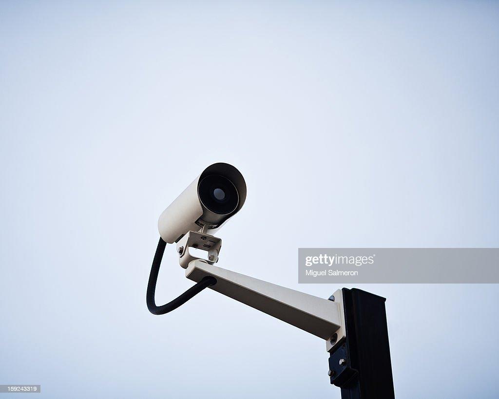Surveillance camera : Stock Photo