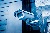 Security Camera, Security System, Building Exterior, Office Building Exterior, Built Structure