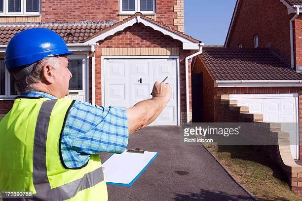 Surveying property