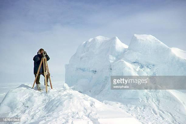 Landvermesser in der Arktis