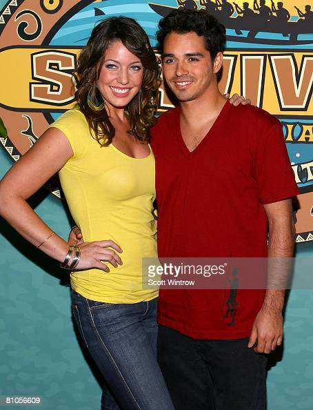 Survivor contestants Amanda Kimmel and Ozzy Lusth attend the Survivor ...