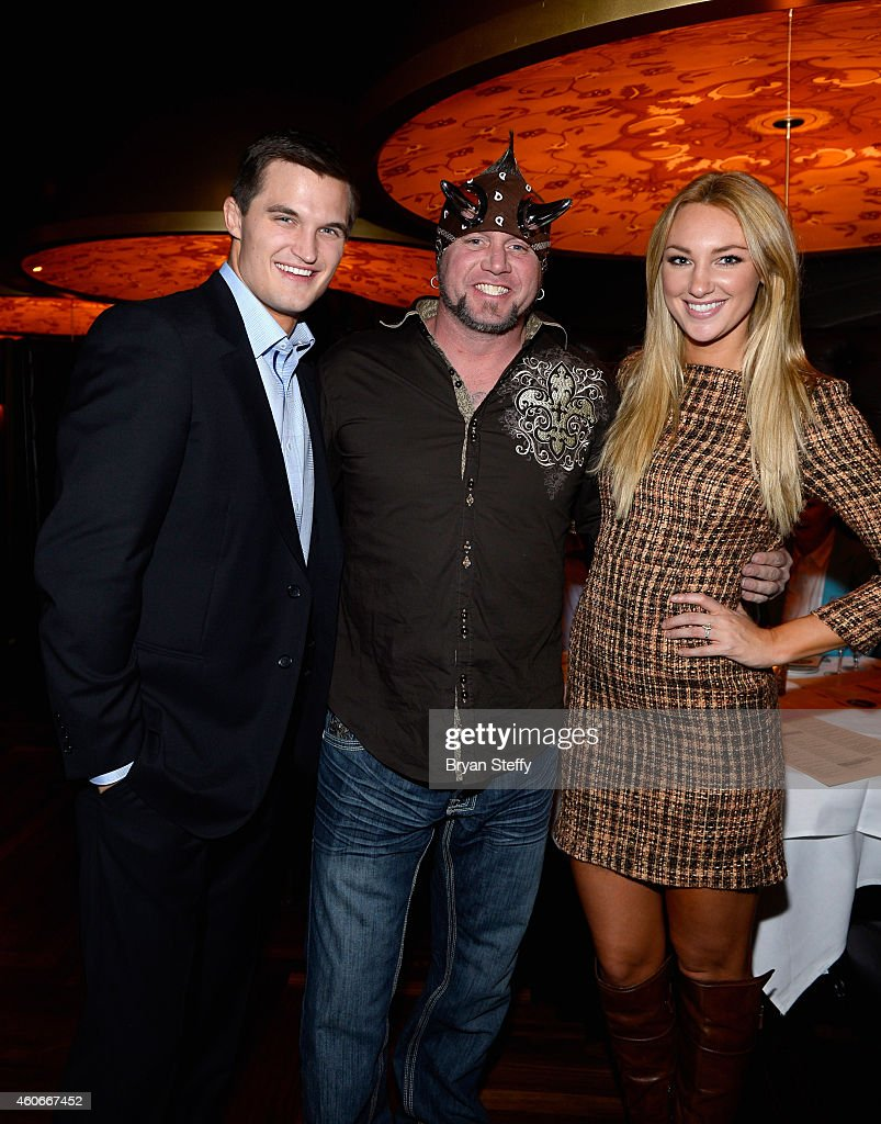 'Survivor' season 29 contestant Jon Misch and television personality 'Horny' Mike Henry of 'Counting Cars' and 'Survivor' season 29 contestant Jaclyn...