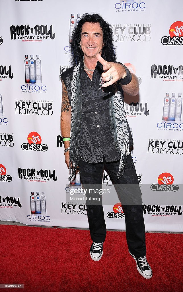 Survivor vocalist Robin McAauley arrives at the premiere party for VH1 Classic's 'Rock 'N' Roll Fantasy Camp' TV show on October 5, 2010 in Los Angeles, California.
