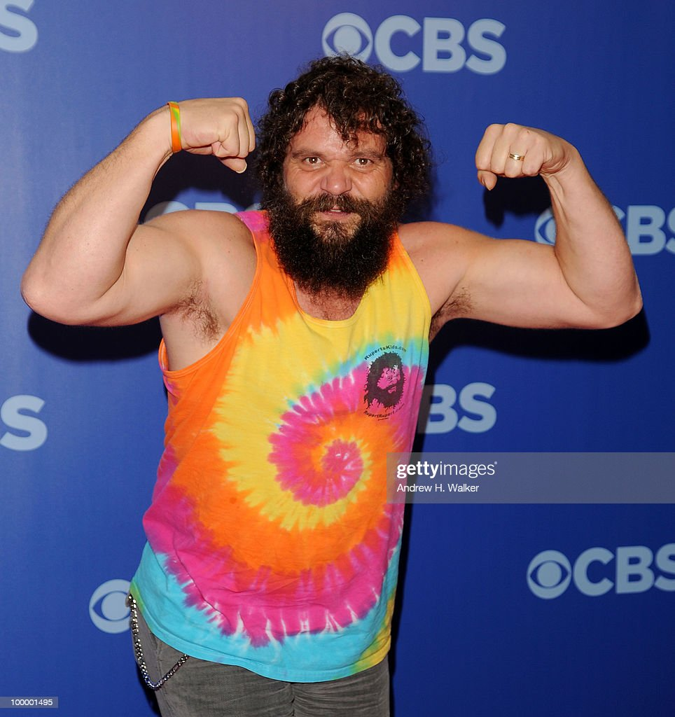 Survivor's Rupert Boneham attends the 2010 CBS UpFront at Damrosch Park, Lincoln Center on May 19, 2010 in New York City.