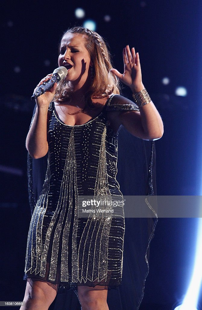 Susan Albers attends the Rehearsal of 1st DSDS Show at Coloneum on March 16, 2013 in Cologne, Germany.