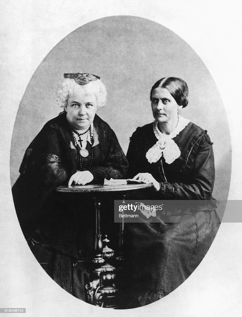 a comparison of elizabeth cady stanton and susan b anthony Elizabeth cady stanton and susan b anthony in 1851, stanton started working  with susan b anthony, a well-known abolitionist the two women made a great.