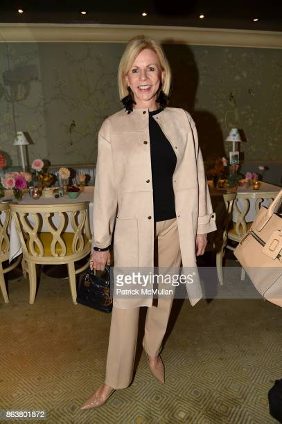 Susan Bennett attend the launch of Second Bloom Cathy Graham's Art of the Table hosted by Joanna Coles and Clinton Smith at Bergdorf Goodman on...