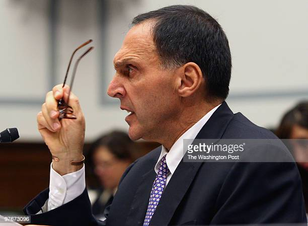 Susan Biddle / TWP LOCATION Washington DC CAPTION Richard S Fuld Jr Chairman and Chief Executive Officer of Lehman Brothers Holdings testified at...