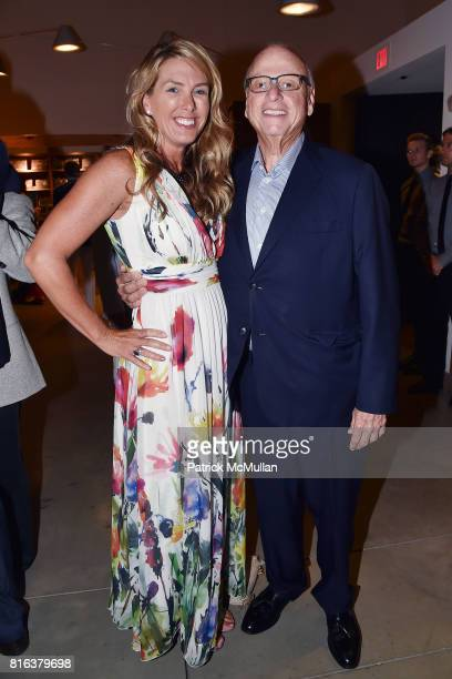 Susan Bordeaux and Howard Lorber attend the Midsummer Party 2017 at Parrish Art Museum on July 15 2017 in Water Mill New York