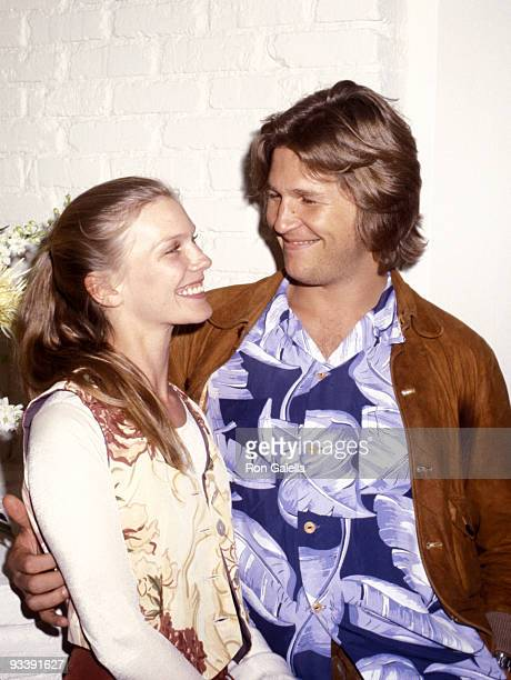 Susan Bridges and Jeff Bridges