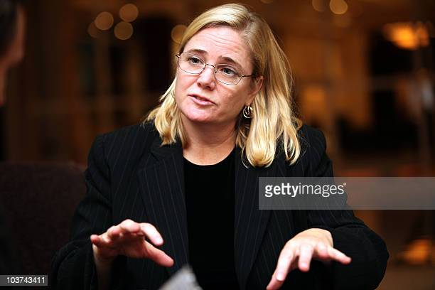 Susan Burke the lawyer for the two former Blackwater employees who allege that the founder of the security firm and companies he controlled defrauded...