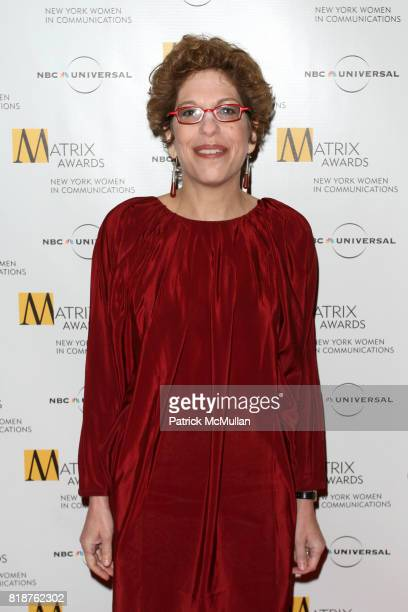 Susan Chira attends New York WOMEN IN COMMUNICATIONS Presents The 2010 MATRIX AWARDS at Waldorf Astoria on April 19 2010 in New York City