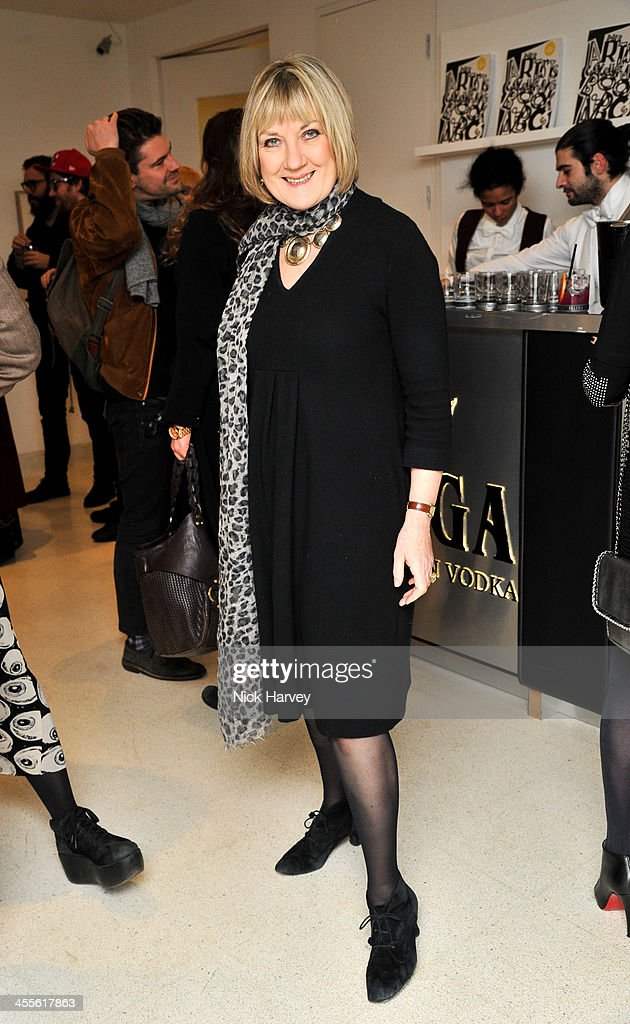 Susan Crewe attends 'The Artists' Colouring Book of ABCs' Launch event at The Serpentine Gallery on December 12, 2013 in London, England.