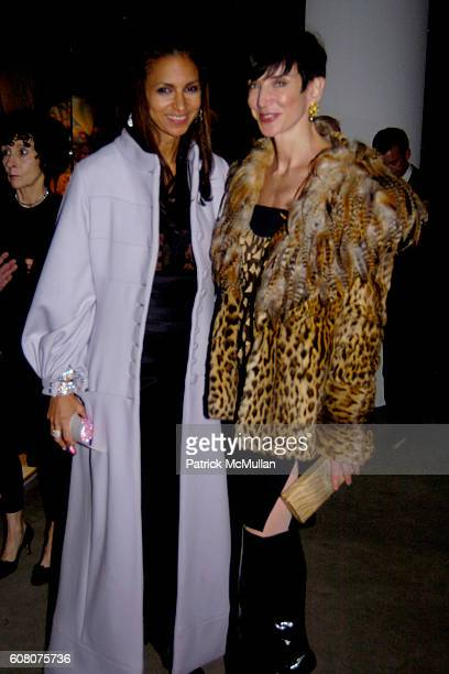 Susan Fales Hill and Amy Fine Collins attend PHILIPPE DE MONTEBELLO and THE METROPOLITAN MUSEUM OF ART Celebrate the Opening of the Exhibition NAN...
