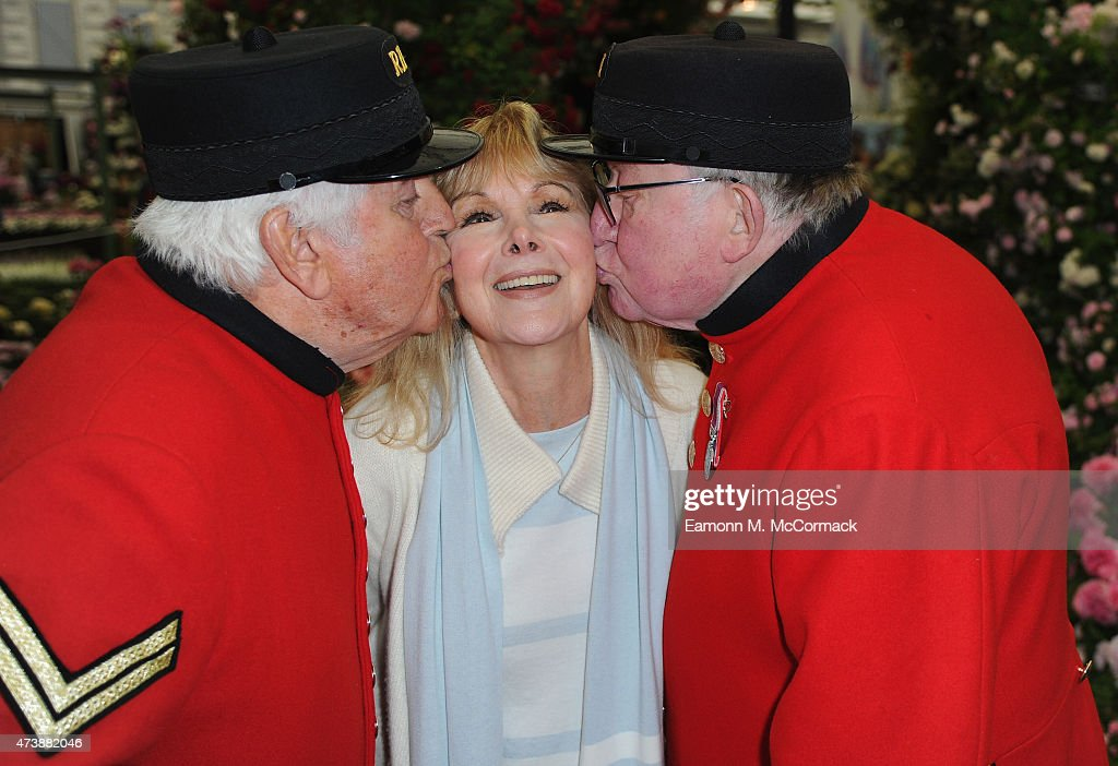 Susan Hampshire attends the Chelsea Flower Show at Royal Hospital Chelsea on May 18, 2015 in London, England.