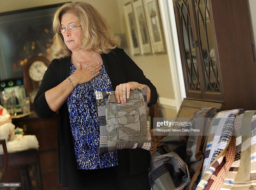 Susan Hanson talks about making quilts and pillows out of her deceased son's clothing Her healthy son Jordan Gill died in an accident and as an organ...