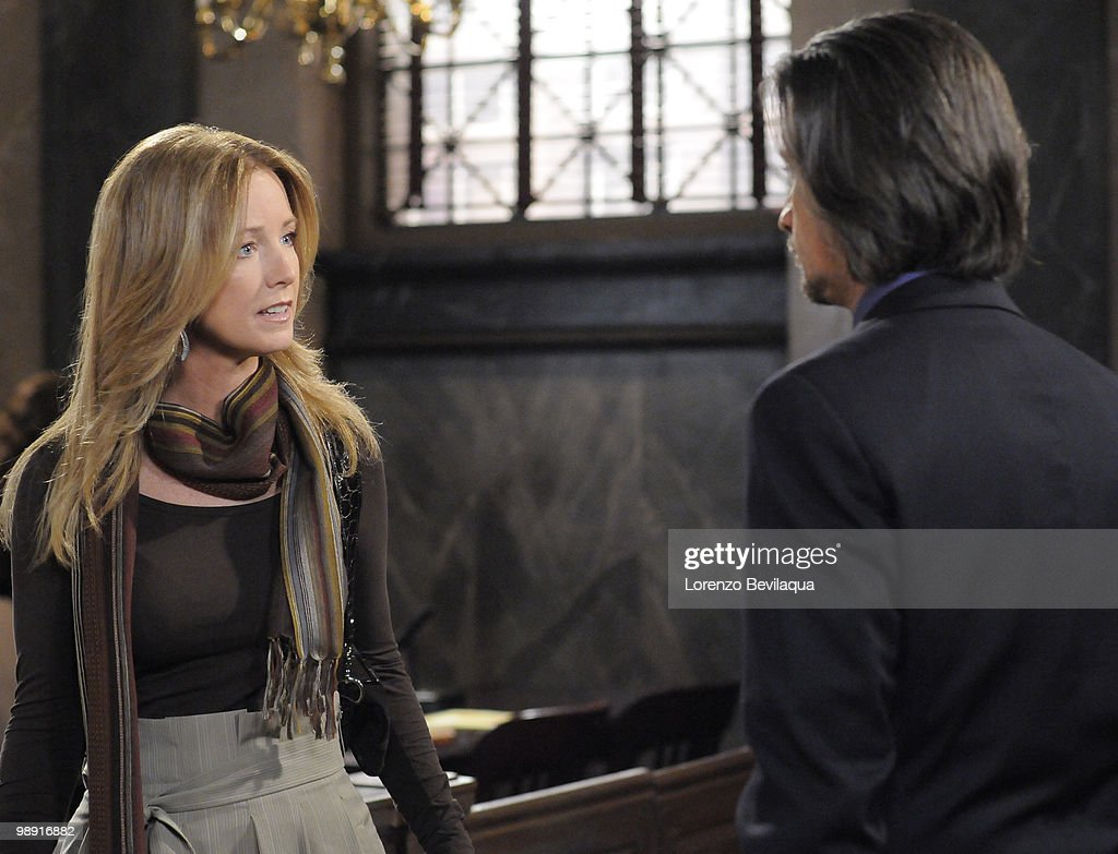 LIVE - Susan Haskell (Marty) and Michael Easton (John) in a scene that airs the week of May 3, 2010 on ABC Daytime's 'One Life to Live.' 'One Life to Live' airs Monday-Friday (2:00 p.m. - 3:00 p.m., ET) on the ABC Television Network. OLTL10 (Photo by Lorenzo Bevilaqua/ABC via Getty Images) SUSAN