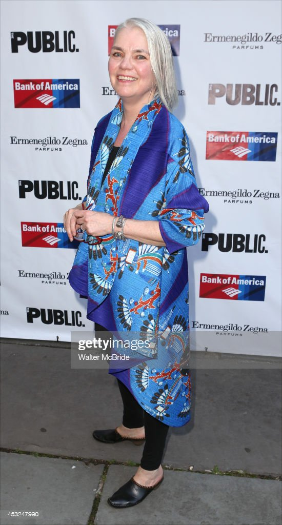 Susan Hilferty attends the The Public Theatre's Opening Night Performance of 'King Lear' at the Delacorte Theatre on August 5, 2014 in New York City.