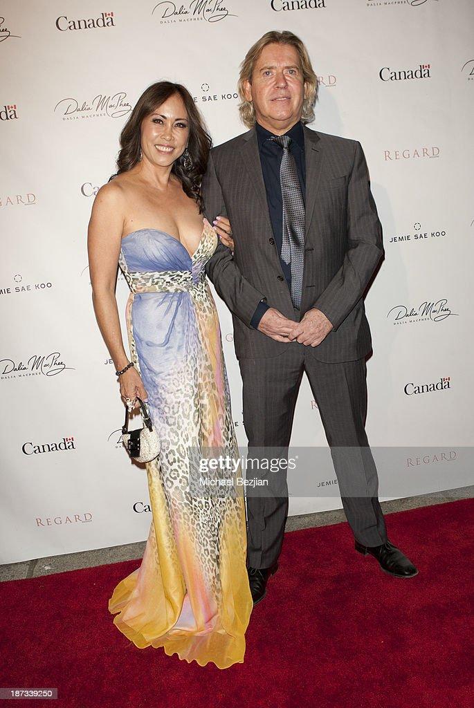 Canadian Consul General Honors  Canadian Fashion Designer Dalia MacPhee
