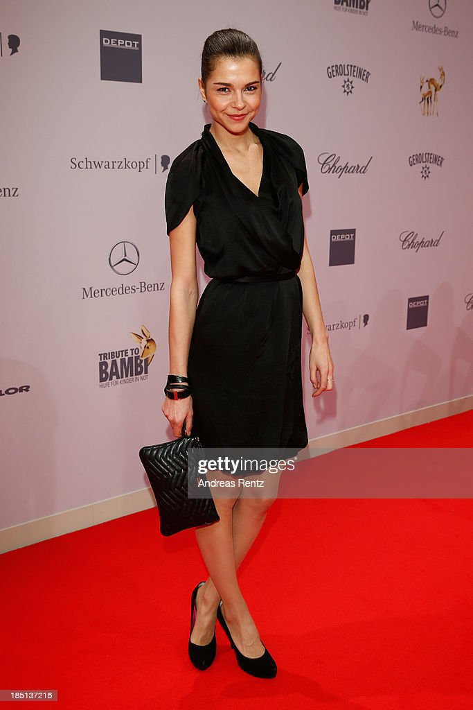 Susan Hoecke arrives at Tribute To Bambi at Station on October 17, 2013 in Berlin, Germany.
