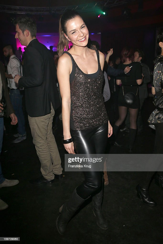 Susan Hoecke attends the 'Michalsky Style Nite After Show Party - Mercesdes-Benz Fashion Week Autumn/Winter 2013/14' at Tempodrom on January 18, 2013 in Berlin, Germany.