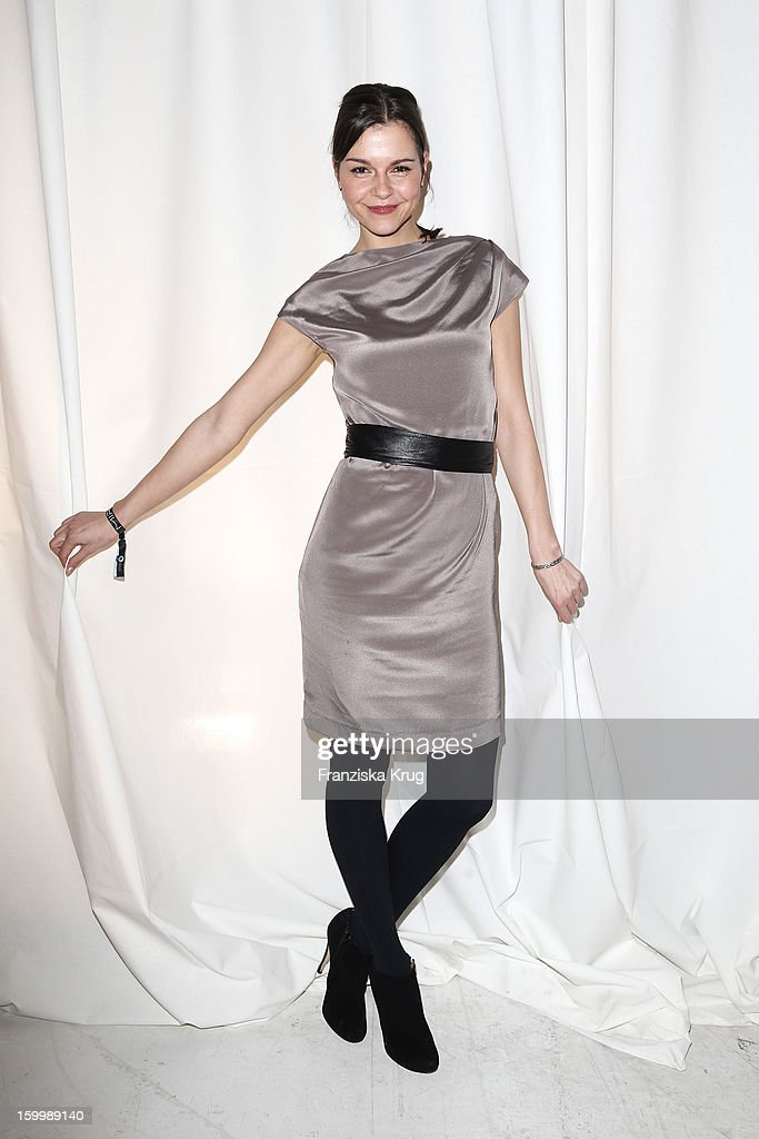 Susan Hoecke attends the Mira Award 2013 on January 24, 2013 in Berlin, Germany.
