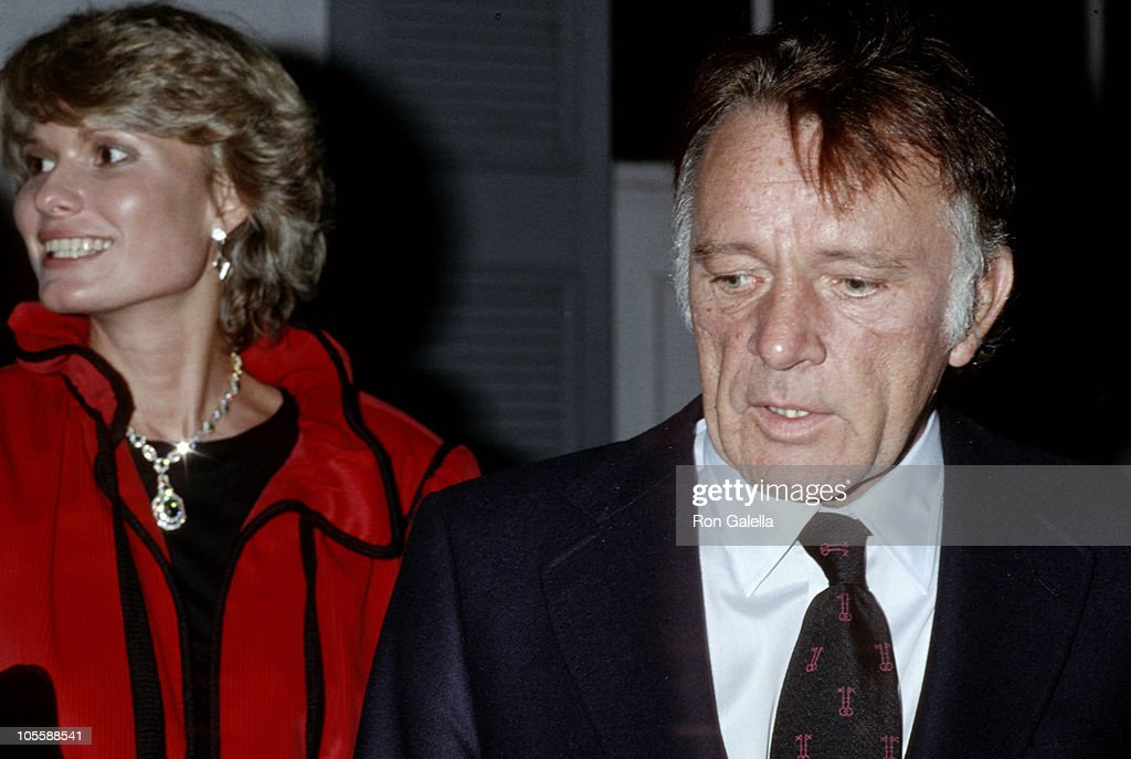 Susan Hunt and <a gi-track='captionPersonalityLinkClicked' href=/galleries/search?phrase=Richard+Burton&family=editorial&specificpeople=175918 ng-click='$event.stopPropagation()'>Richard Burton</a> during <a gi-track='captionPersonalityLinkClicked' href=/galleries/search?phrase=Richard+Burton&family=editorial&specificpeople=175918 ng-click='$event.stopPropagation()'>Richard Burton</a> and Susan Hunt Sighting - New York City - January 20, 1978 at Chasen's Restaurant in Beverly Hills, California, United States.