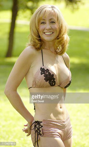 Susan Irby 'Los Angeles Bikini Chef' wearing her favourite dish a salmon skin bikini