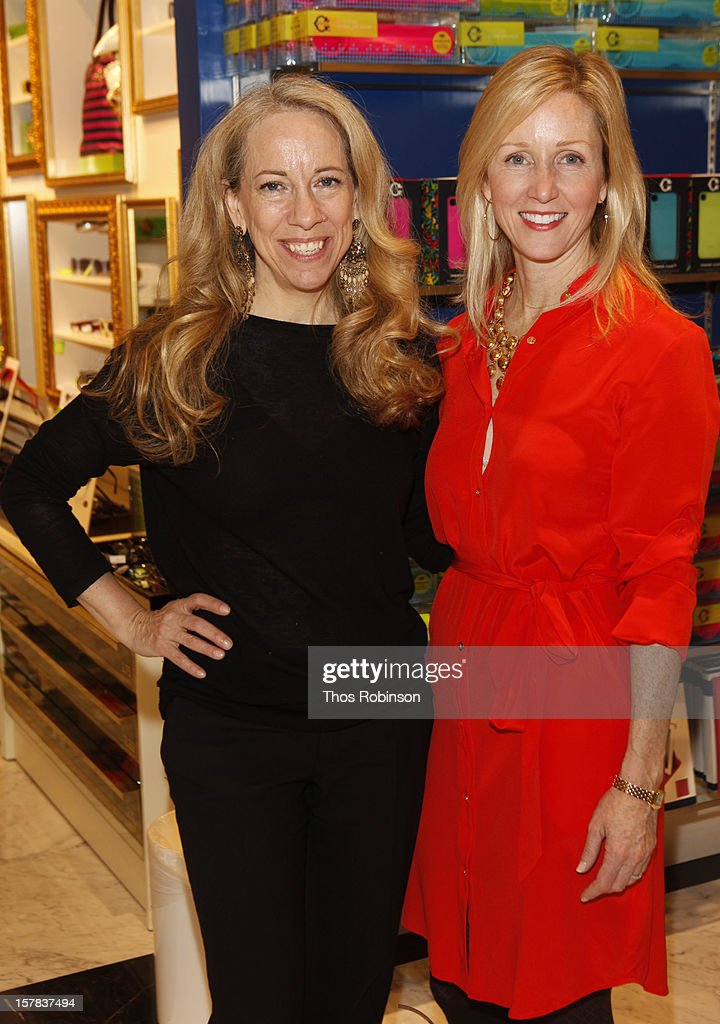 Susan Kaufman, editor, People StyleWatch and Vivien Kronengold, cmo, C. Wonder attend C. Wonder and People StyleWatch celebrate the holidays at C. Wonder on December 6, 2012 in New York City.