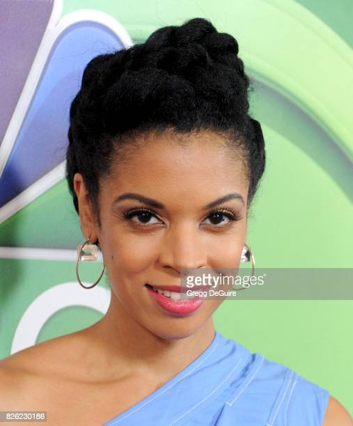 Susan Kelechi Watson arrives at the 2017 Summer TCA Tour NBC Press Tour at The Beverly Hilton Hotel on August 3 2017 in Beverly Hills California