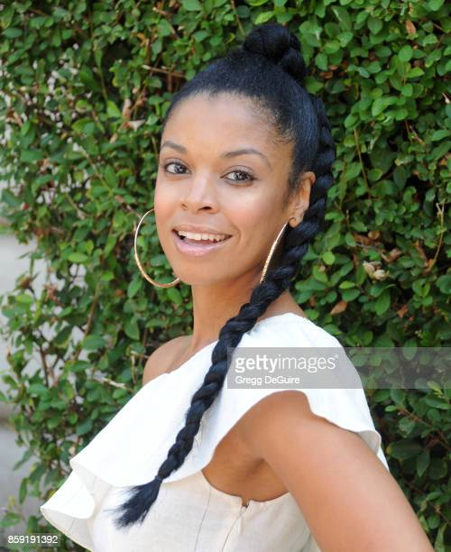 Susan Kelechi Watson arrives at The Rape Foundation's Annual Brunch at a private residence on October 8 2017 in Los Angeles California