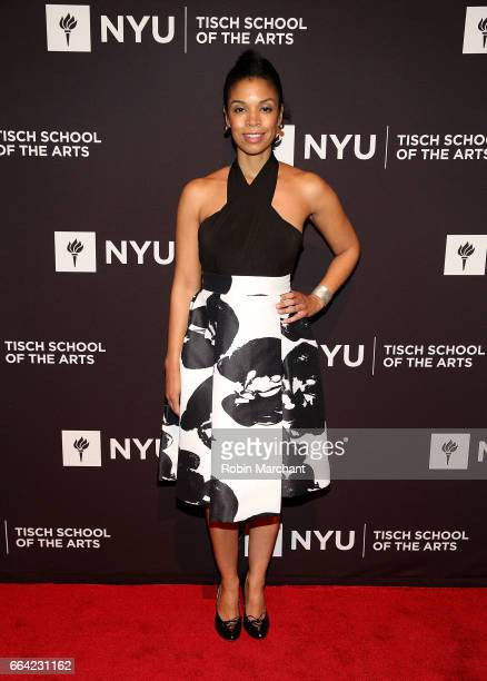Susan Kelechi Watson attends NYU Tisch School of the Arts' 2017 Gala at Cipriani 42nd Street on April 3 2017 in New York City