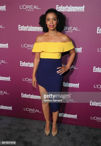 Susan Kelechi Watson attends the 2017 Entertainment Weekly PreEmmy Party at Sunset Tower on September 15 2017 in West Hollywood California