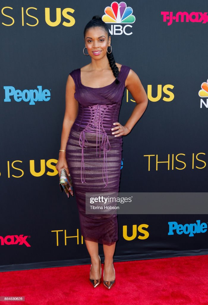 Susan Kelechi Watson attends the premiere of NBC's 'This Is Us' season 2 at NeueHouse Hollywood on September 26, 2017 in Los Angeles, California.
