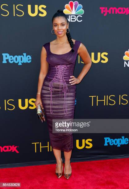 Susan Kelechi Watson attends the premiere of NBC's 'This Is Us' season 2 at NeueHouse Hollywood on September 26 2017 in Los Angeles California