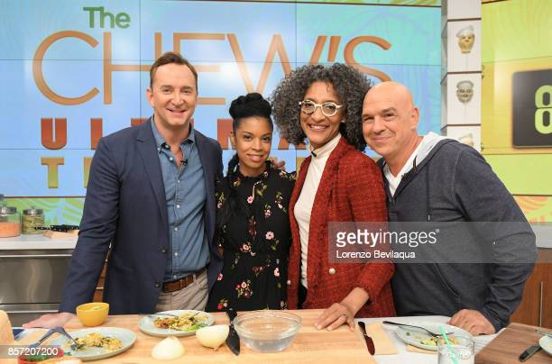 THE CHEW Susan Kelechi Watson is the guest Tuesday October 3 2017 on ABC's 'The Chew' 'The Chew' airs MONDAY FRIDAY on the ABC Television Network...