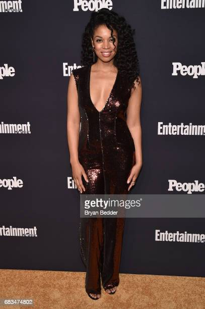 Susan Kelechi Watson of This Is Us attends the Entertainment Weekly and PEOPLE Upfronts party presented by Netflix and Terra Chips at Second Floor on...