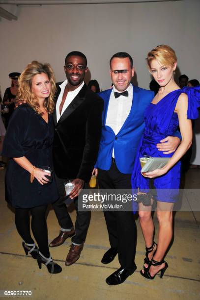 Susan Kilkenny Naeem Delbridge Scott Buccheit and Aimee Ruby attend INTERVIEW Russian Masquerade preparty with Alex Ani and MAC at MILK Studio on...