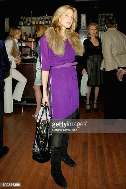 Susan Kirschbaum attends An Intimate Evening of Food Fashion and Gossip with the Inimitable Jackie Rogers at Jour et Nuit on March 26 2007 in New...