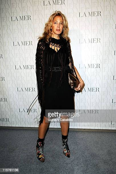 Susan Kirschbaum attends the La Mer Celebrates 'Liquid Light' By Fabien Baron at The Glass Houses on September 10 2008 in New York City