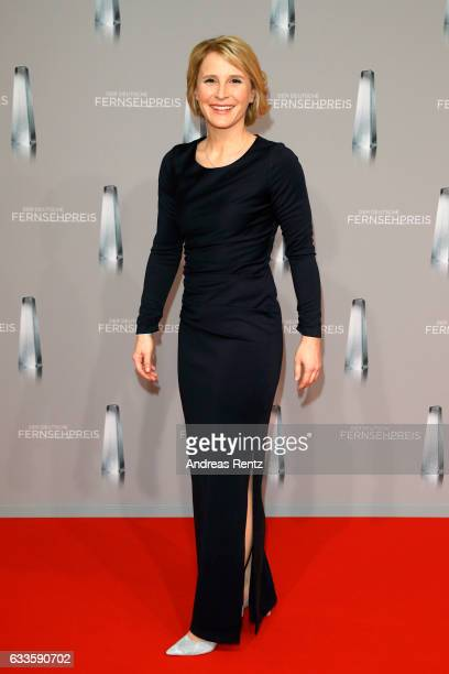 Susan Link attends the German Television Award at Rheinterrasse on February 2 2017 in Duesseldorf Germany