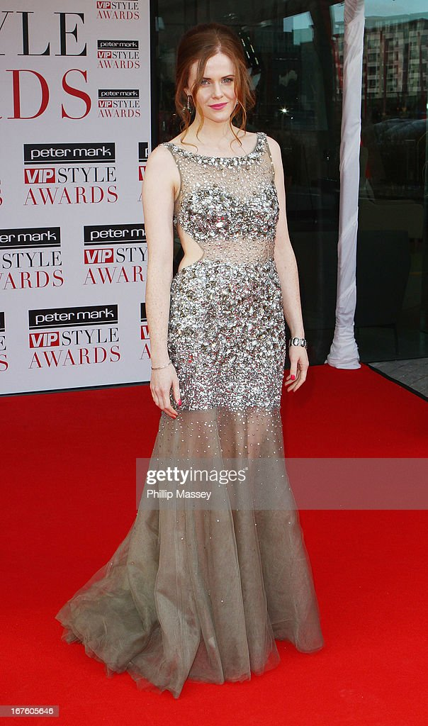 Susan Loughnane attends the Peter Mark VIP Style Awards at Marker Hotel on April 26, 2013 in Dublin, Ireland.