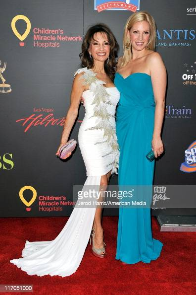 Susan Lucci and Liza Huber arrive at 38th Annual Daytime Entertainment Emmy Awards For Soap Opera Weekly Arrivals on June 19 2011 in Las Vegas Nevada