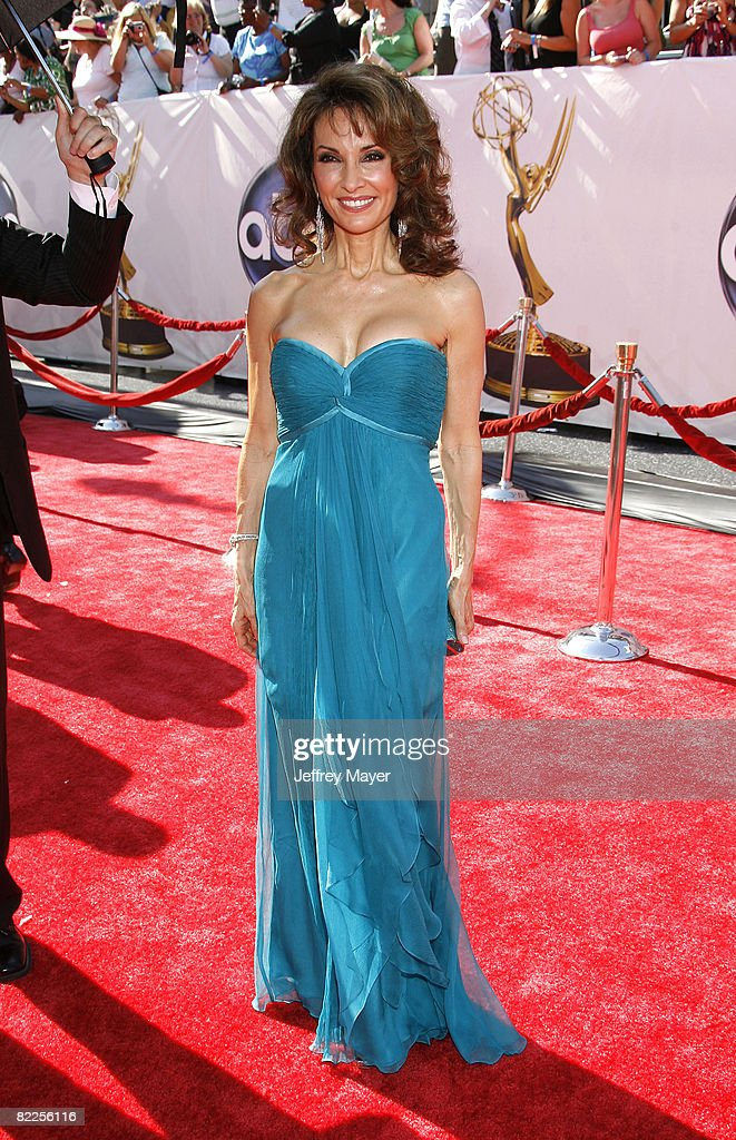 Susan Lucci arrives at the 35th Annual Daytime Emmy Awards on June 20, 2008 in Los Angeles, California.