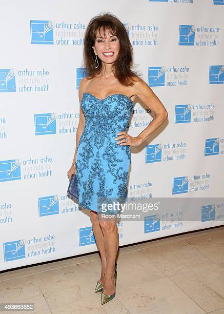 Susan Lucci attends Arthur Ashe Institute For Urban Health 21st Annual Black Tie And Sneakers Gala at Guastavino's on October 21 2015 in New York City