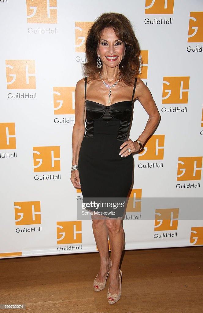 Susan Lucci attends 'Celebrity Autobiography' at Guild Hall on August 26 2016 in East Hampton New York