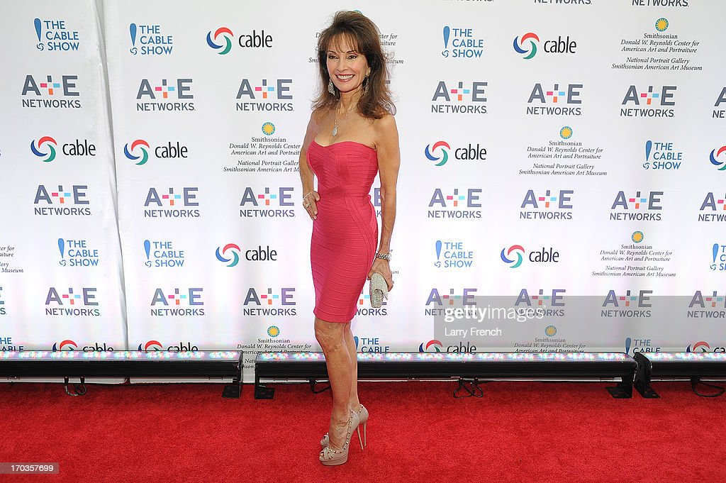 Susan Lucci attends the A+E hosted NCTA Chairman's Reception at the Smithsonian American Art Museum & National Portrait Gallery on June 11, 2013 in Washington, DC.