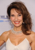 Susan Lucci attends the Elton John AIDS Foundation's 12th Annual An Enduring Vision Benefit at Cipriani Wall Street on October 15 2013 in New York...
